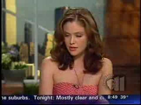 Reiko Aylesworth WB news part 2 Video