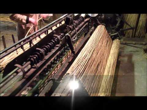 Станок для производства камышовых матов