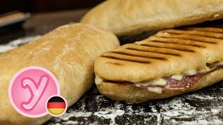 fluffiges SANDWICHBROT / PANINI BROT – einfach selbst gemacht