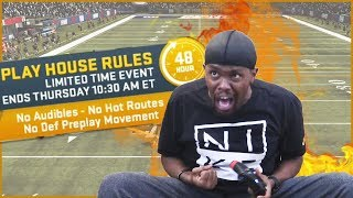 House Rules DEEZ NUTS! (Madden 19 Ultimate Team)