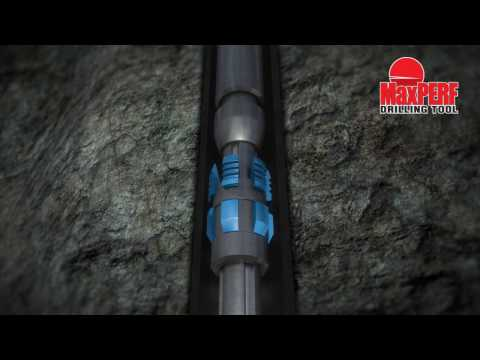 MaxPERF Drilling Tool Animation