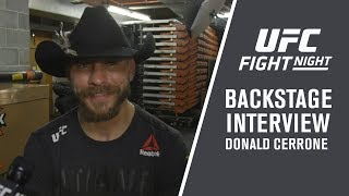 Fight Night Austin: Donald Cerrone - 'I knew Yancy Was Going to Meet Me In The Middle'