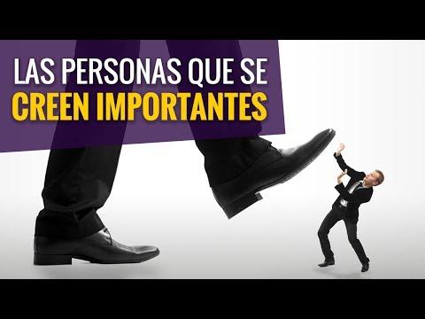 Personas que se creen importantes / Juan Diego Gómez G.