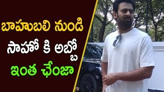 Sahoo Movie Prabhas New Look | Latest Telugu Movie News