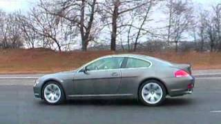 Тест-драйв BMW 6 Coupe