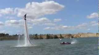 Demo Flyboard bellegarde by Franky zapata