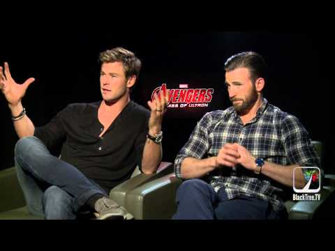 Avengers Age of Ultron: Chris Evans and Chris Hemsworth on their 'own movie'