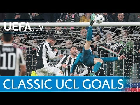 Ronaldo's overhead kick and five other classic UCL goals thumbnail