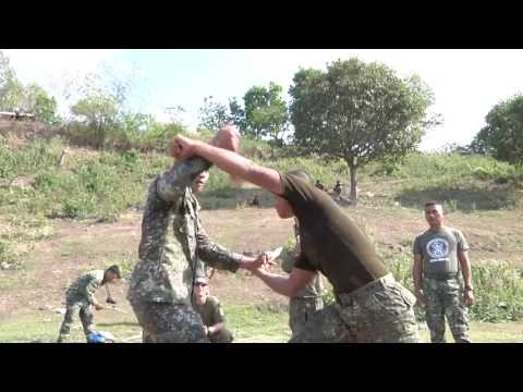 Philippine, US Marines conduct close quarters combat / martial arts