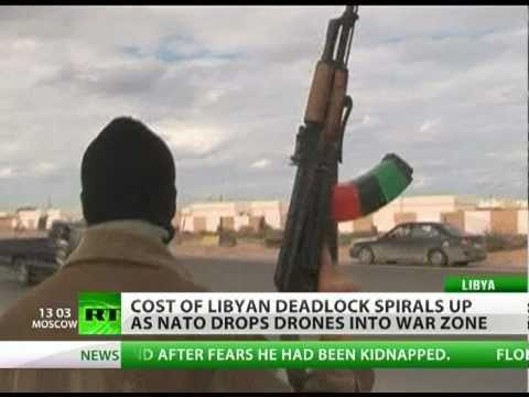 US drops predator drones into Libya war zone as deadlock costs go up