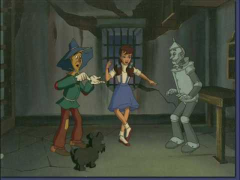 Tribute to the Wizard of Oz cartoon from 1990
