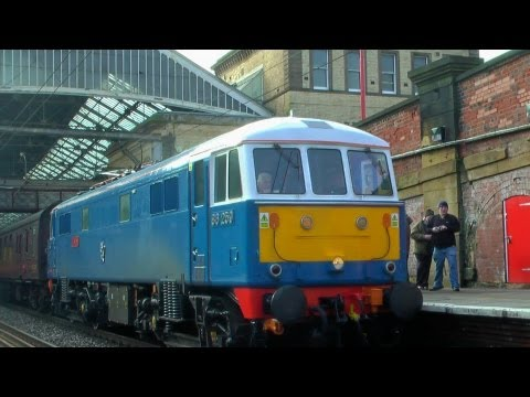 Now available in 1080p HD! Since electrification was completed in part in 1960 and fully in 1974, the West Coast Mainline from London Euston to Glasgow Centr...