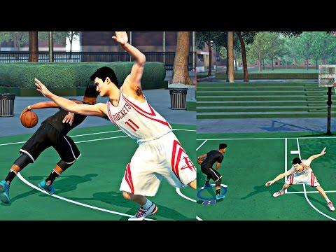 NBA 2k16 MyPark - FREDDY VS YAO MING 1v1 REMATCH! | BROKE THEM BIG A$$ ANKLES DOWN!