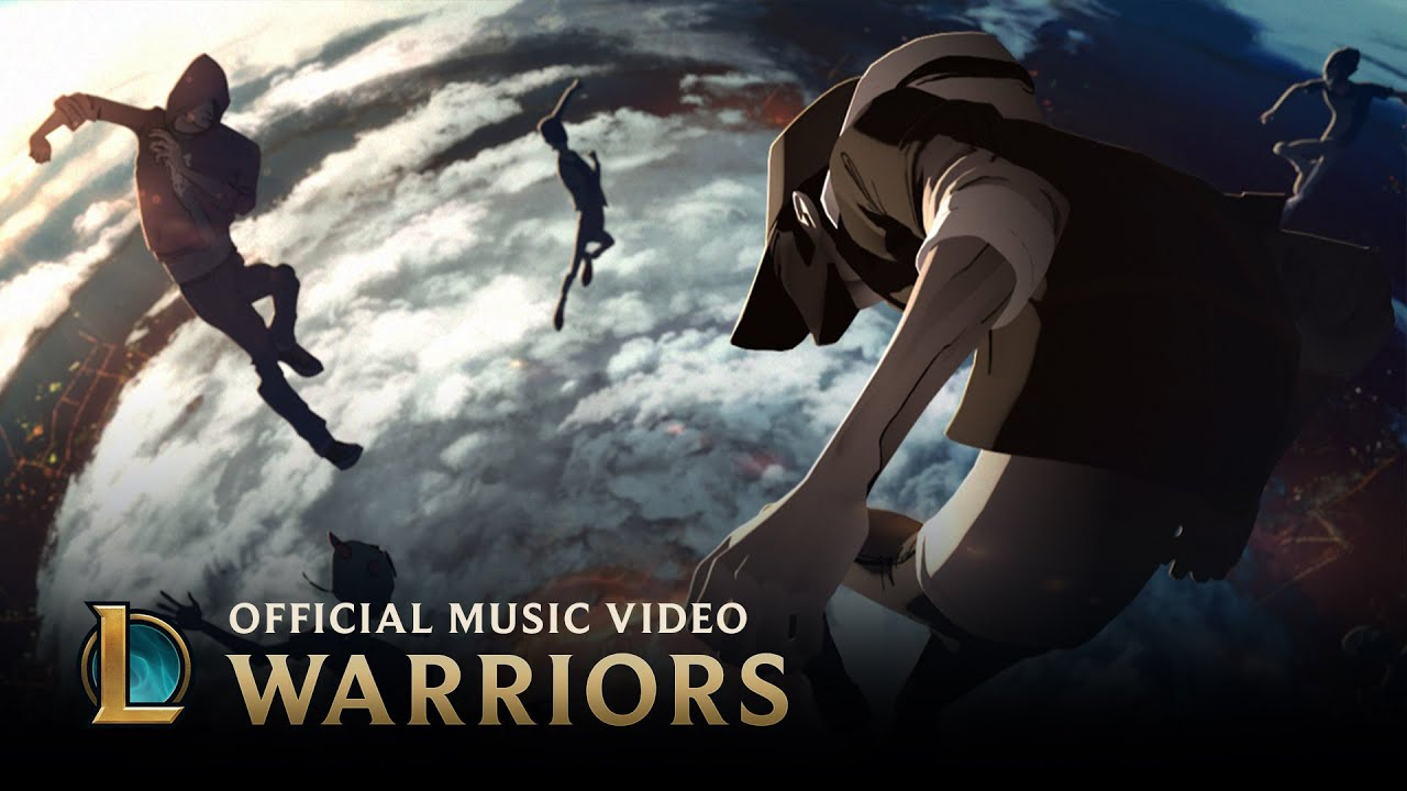 Download the song at: http://na.leagueoflegends.com/en/esports-event/warriors The battle begins, and sixteen teams across the globe are fighting towards one ...