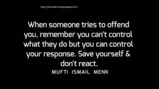 Mufti Ismail Menk Quotes About Life Problem And Trust On Allah