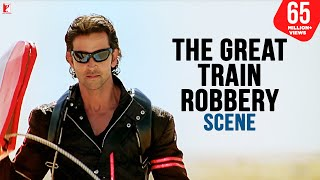 Scene: Dhoom:2 | The Great Train Robbery | Hrithik Roshan
