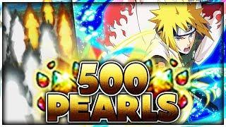 THIS BANNER... 500+ PEARLS! MINATO BLAZING FEST SUMMONS! | Naruto Shippuden Ultimate Ninja Blazing