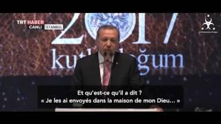 Erdogan - un discours qui a bouleversé toute la Oumma !