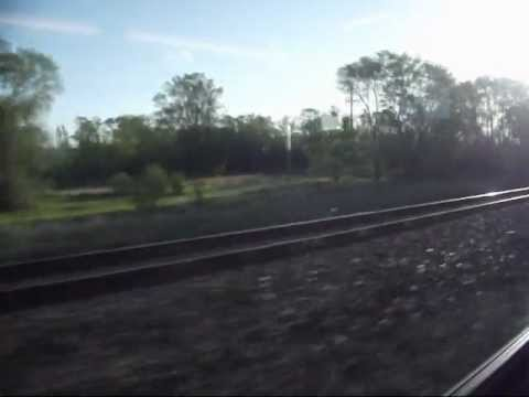 Northstar Commuter Rail from Big Lake, MN, to Elk River, MN, on May 4, 2012.