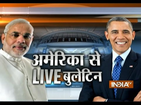 Modi US visit: India TV Live Reporting from New York Manhattan
