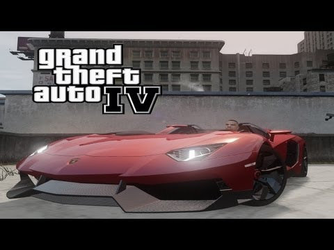 GTA IV Mods: Most Wanted #16 (German) (HD) - Lamborghini Aventador J
