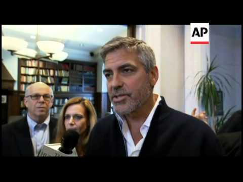 US actor George Clooney arrested in protest at Sudan Embassy