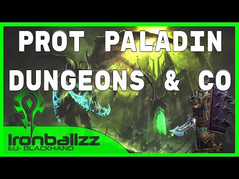 WoW Legion Prot Paladin ⚔ 7.2 ► #04 World of Warcraft Paladin Tank Livestream