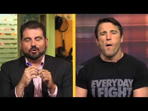 "Chael Sonnen responds to ""race-baiting"" accusations with Dan Le Batard"
