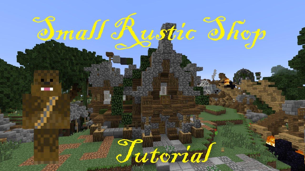 Minecraft 17x14 Small Rusitc