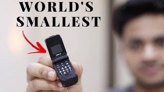 World's Smallest Phone | Unique Gadget | Tech Unboxing 🔥