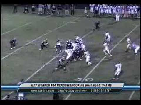 Jeff Bonner #44 Meadowbrook High School 2007 Highlights