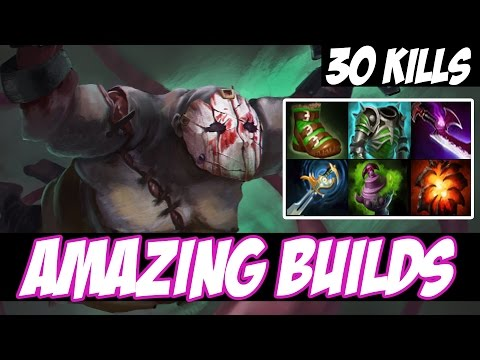 HOW TO BE A PUDGE CARRY - Amazing Builds vol 60 - Dota 2
