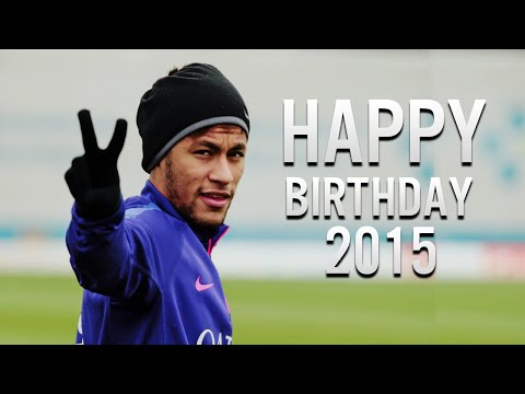 Neymar Jr ● Happy Birthday 2015 - Best Skills & Goals | HD