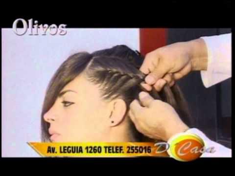 Peinado en trenzas para novia moda 2013 programa d casa tv - Peinados de trenzas modernas ...