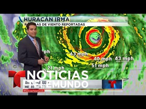 ¿Qué ocurre ahora mismo con Irma?   Noticiero   Noticias Telemundo