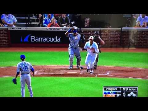 Orioles Manny Machado fights Royals Yordano Ventura 6/07/2016