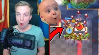 CLUTCH MINER SECRET PLACEMENT! | Best Clash Royale Plays Of The Week #36