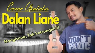 Dalan Liane || HENDRA KUMBARA Cover Ukulele Full BASS