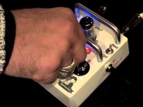 Lightning Boy Audio SOUL DRIVE tube overdrive guitar effects pedal demo