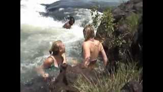 Victoria Falls Devil's Pool Thrilling Video