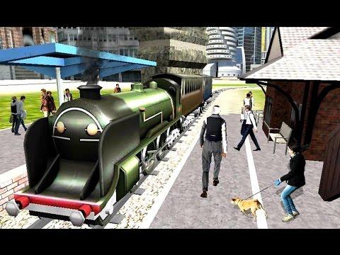3D City Passenger Train Driver - Simulasi Kereta Api Perkotaan (Android Game)