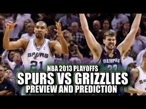 Spurs vs Grizzlies NBA 2013 Playoffs preview  and predictions