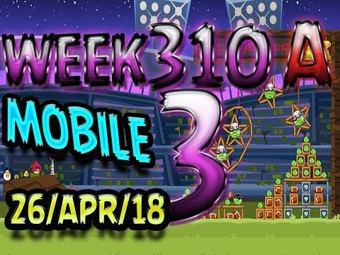 Angry Birds Friends Tournament Level 3 Week 310-A  MOBILE Highscore POWER-UP walkthrough