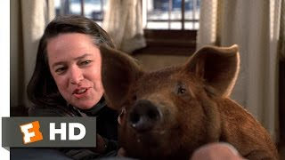 Misery (3/12) Movie CLIP - Misery the Pig (1990) HD