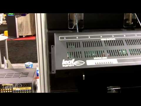 CEDIA 2013: Leaf Audio Shows Off the LTCAT6