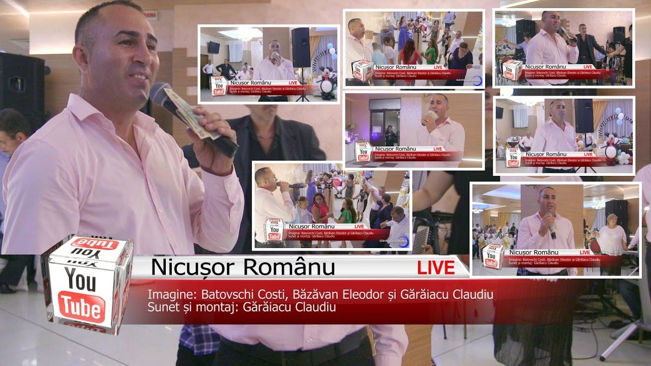 NICUSOR ROMANUL ✦ COLAJE LAUTARESTI 30 MIN ✦ LIVE 2017 ✦ TAMBAL SI BAS
