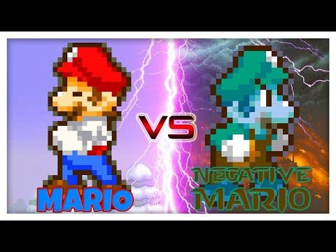 Mario VS Negative Mario