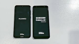 Huawei Y7 Prime 2019 vs Samsung Galaxy J6 Plus - Speed Test! ( 4K)