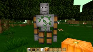 invocar nuevos monstruos en minecraft(GOLEM, WITHER Y MUÑECO DE NIEVE)