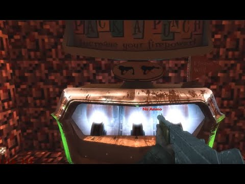CoD WaW: Custom Zombie Map minecraft SOLO part 1 (PC) ᴴᴰ